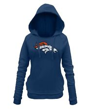 "Denver Broncos Women's New Era NFL ""Post Route"" Pullover Hooded Sweatshirt"