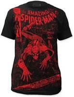 SPIDER MAN - Big Red Logo - T SHIRT S-M-L-XL-2XL Brand New - Official T Shirt