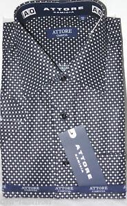 Camicia classica uomo Attore mezza manica collo classico art 113 € 9,90