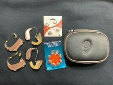 2 pair of Hearing AidsOticon OPN 2 Opn2 Sonic JN40 SP Case & Batteries Used