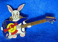 OSAKA JAPAN YEAR OF THE RABBIT ZODIAC ASTROLOGY GUITAR 99 Hard Rock Cafe PIN
