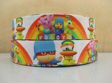 2 Metros Pocoyo Cinta Tamaño 1 in (approx. 2.54 cm) arcos Diademas de pelo Clips de Pelo Horquillas Pastel de Cumpleaños