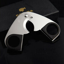 Stainless Steel Cigar Scissors/Cutter With Rubber Grip COHIBA