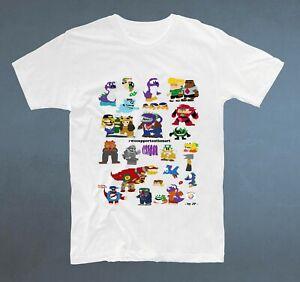 White Tee T shirt MyCartoons Microsoft Paint Youtube inspired autism boy drawing
