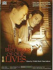 "New  DVD "" The Best Years of Our Lives "" Fredric March"
