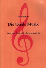 Franz Sauter, la música tonale, anatomía estética musical, EA 2000 Hamburgo