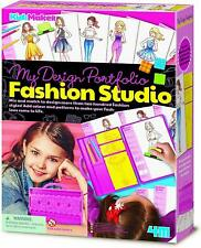 Portfolio Fashion Design Studio - 4M 404720 - 5+ anni