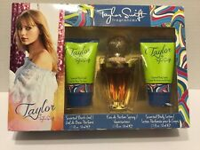 Taylor By Taylor Swift Perfume Bath Gel And Body Lotion Each 1.7 Oz Gift Set NEW