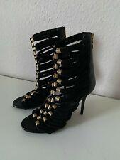 Balmain X H&M Paris Schuhe Stiefeletten boots Leder leather 40 US 9 UK 7