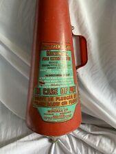 More details for old antique vintage fire extinguisher