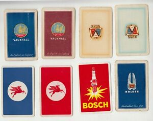 B142 genuine playing cards  cars Ford Holden OILS Vauxhall    Hudson