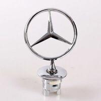 OEM Mercedes-Benz Star Hood Logo Emblem Badge 3D w210 w202 w203 C200 w211 Silver