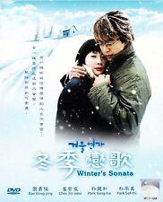 Korean Drama DVD: Winter's Sonata 冬季恋歌 (2003)_Good English Sub_R3_FREE SHIPPING