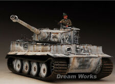 Award Winner Built Tamiya 1/35 Eastern Front Snow Tiger I +PE+Figure