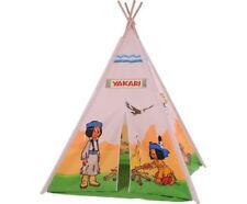 Knorrtoys Yakarai Tipi Friends, Kinderzimmerzelt, Zelt, Kinderzelt, Indianerzelt