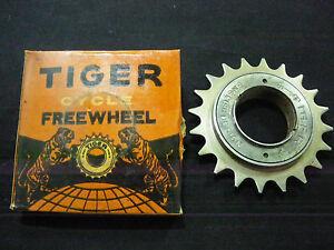 VINTAGE BICYCLE FREEWHEEL TIGER 20TEETH 1/2 X 1/8 FOR RALEIGH SCHWINN BIKES NOS
