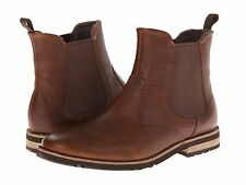 Men's Rockport Ledge Hill 2 Chelsea Tan Leather Size 11 MSRP 170$
