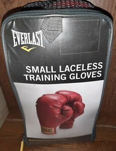 EVERLAST small LACELESS TRAINING GLOVES SMALL model 3003 light use