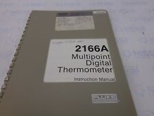 Fluke 2166A Multipoint digital thermometer P/N 445445 instruction manual