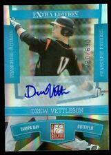 2010 Donruss Elite Extra Edition Franchise Futures Sig #2 Drew Vettleson /690