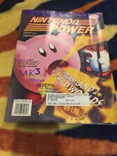 Vintage Nintendo Power Magazine Vol 72 Kirby's Dreamland Poster MK3