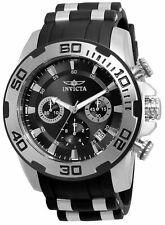 Invicta 22311 Men'S Pro Diver черный полиуретановый ремень СС чехол швейцарские кварцевые часы