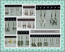 Wholesale Jewelry Lot - Dangle Earrings 20 Pairs ~ FREE-SHIPPING in US - 20Pairs