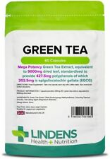 Green Tea 9000mg -high strength fat burner, weight loss- (60 capsules) [1585]