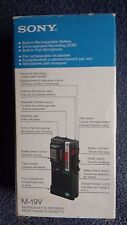 Vintage SONY Micro Cassette Recorder,M-19V, New