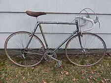 VINTAGE 57.5 CM AUSTRO DAMIER VENT NOIR II CAMPAGNOLO PARTS 10 SPEED BICYCLE