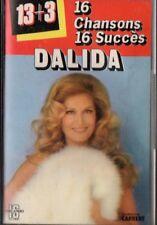 """CASSETTE DALIDA """"16 CHANSONS 16 SUCCES"""""""