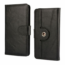 100% Real Leather Nano Case For Meizu M5c - 360 Black 2