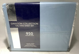 AQ TEXTILES Grayson Collection 4-Pc 950 Thread Count Sheet Set - California King