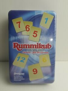 Rummikub Travel / Jeu De Voyage FREE SHIPPING, Factory Sealed (A15)