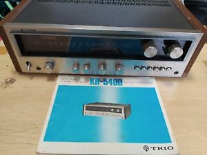 TRIO KENWOOD KR-5400 Vintage Stereo HiFi Amplifier Tuner AM FM Receiver 1970s