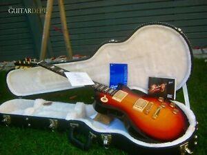 ♚SUPERB♚2010 Gibson Les Paul STUDIO♚FIREBURST GLOSS♚GOLD♚7.5LBS♚AAA Rosewood