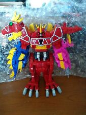 Power Rangers Dino Charge Megazord Red T-Rex Zord With Helmet