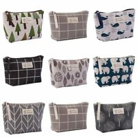 Bag Cosmetic Storage Pouch Travel Case  Portable Wash Toiletry Organizer Makeup