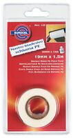 nastro biadesivo adesivo forte ml 1,5x19 mm schiuma PE per mensole vetrine