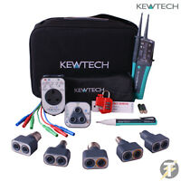 Kewtech KT1780 KIT33, Lightmate, PAT Adaptor, R2 Socket Tester and Test Lead Set