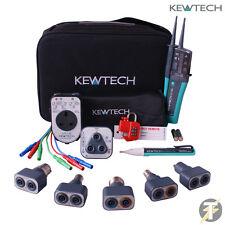 Kewtech KT1780 KIT33, Lightmate, PAT Adaptateur, R2 testeur prise et Test Lead Set