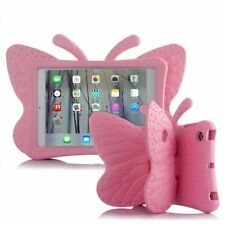 IPAD MINI SHOCKPROOF PROTECTIVE CASE COVER SKIN FOR KIDS. PINK BUTTERFLY DESIGN
