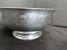 JOHN RATZENBERGER Award 200 Episode with Governor Dukakis 1990 Cheers Memrobila