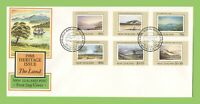 New Zealand 1988 Heritage Issue First Day Cover