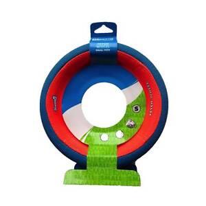 Chuckit FETCH WHEEL Small Dog Fetch Tug-A-War Toy Rolling Frisbee Games 7.5 Inch