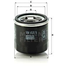 Mann Oil Filter Spin On For Infiniti G 37 37 X