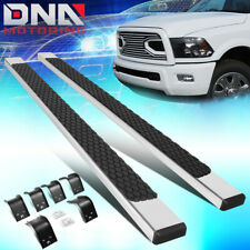 "FOR 2009-2018 RAM TRUCK 1500 2500 CREW CAB PAIR 5"" NERF STEP BAR RUNNING BOARDS"