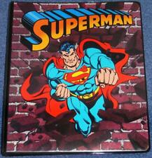 SUPERMAN STYLE GUIDE BINDER-1991-DC COMICS-SIGNED JOSE LUIS GARCIA LOPEZ-NM