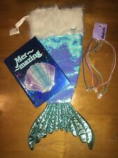 Justice Mermaid Stocking Reverse Sequins Diary Claire's Bf Necklace Birthday Lot