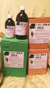 """Bio""-EM-A,EMA,Effektive Mikroorganismen,0,5l-10l,Bodenhilfsstoff, Bio-vegan"